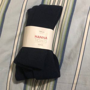🆕Hanna Andersson size 120 (6-7) ankle tights